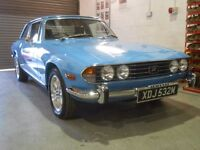 TRIUMPH STAG MK II 3.0 V8 1974-M 69,000miles. Convertible stunning condition. RHD. Manual/Overdrive.