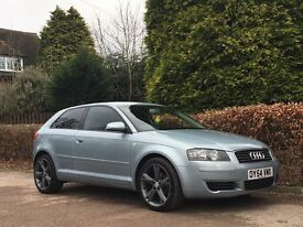 2004 AUDI A3 2.0 TDI S LINE WHEELS NATIONWIDE DELIVERY WARRANTY CARD FACILITY AVAILABLE AVAILABLE