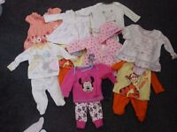 Baby girl clothes first size and newborn