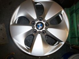 "ALLOY WHEELS 17"" FOR BMW - SET OF 4 VERY GOOD CONDITION"
