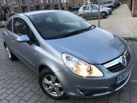 Vauxhall Corsa 1.4 i 16v Club 3dr,2007,Hatchback,New MOT,Service history,hpi clear