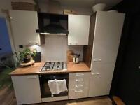 Entire Kitchen - cooker fridge freezer units worktop etc