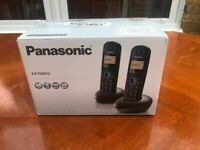 Panasonic KXTGB212EB Twin Handset Digital Cordless Phone