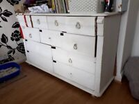 An upcycling opportunity- real large wooden drawer