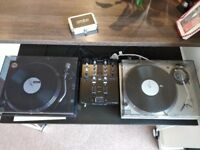 Technics 1200 MK5 & Pioneer PLX 1000 & DJM 250 MK2 with Rekordbox license PRISTINE CONDITION