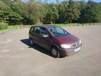 Vauxhall zafira mint condition