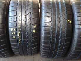 Part worn tyres from £10/225/55/16/225/50/16£10/ 225/45/17£15--