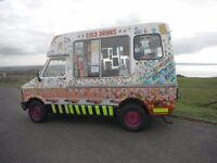 Ice cream van Bedford c/f 1984yr