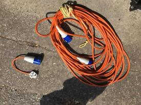 Hook up lead/electric cable+converter
