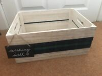 Handmade unique card box for weddings