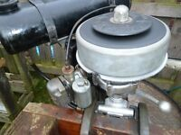 Seagull 5hp Silver century L/Shaft Outboard with Clutch