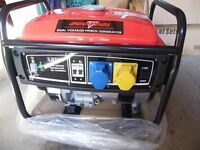 NEW Duotool * 2200w Petrol Generator * Dual Valtage