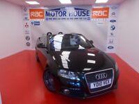 Audi A3 Cab TDI S LINE(£30.00 ROAD TAX) FREE MOT'S AS LONG AS YOU OWN THE CAR!!! (black) 2010
