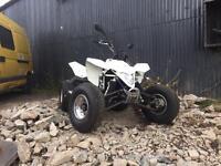 Road legal quad .. Suzuki ltr 450