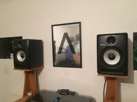 Pair Of Pioneer S-DJ80x Monitor Speakers