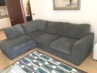 Sofa (L shaped) nearly brand new