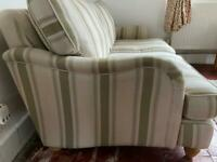 DFS Gower Sofa plus 2 chairs and storage footstool.