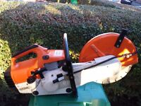 stihl ts400 grinder,concrete saw IN EXCELLENT USED CONDITION 100% STIHL!!! not ts410,SEE VIDEO!