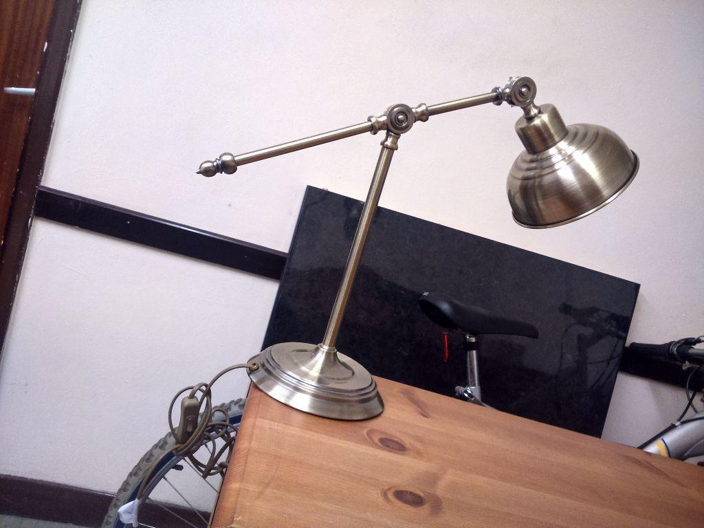 Gumtree Desk Fan : Antique style vintage adjustable desk lamp in south