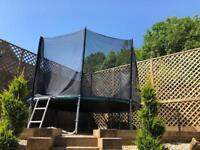 Trampoline 12ft Airtech Gold with safety net