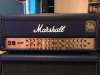 Marshall JVM 410HJS Blue with matching 4x12
