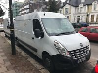 Renault MASTER 2010 panel van MOT one year sat nav bluetooth £3200