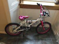 """Girls Avigo Breeze Bike 18"""" age 5-8"""