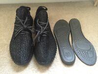 Adidas Yeezy Boost 350 Low shoes Pirate Black UK9(43.3) Freepost