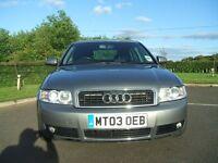 Audi a4 (sport) 1.8t 2003 97.000 miles. (petrol)