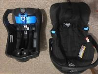 Grace Tri-Logic baby car seat with base