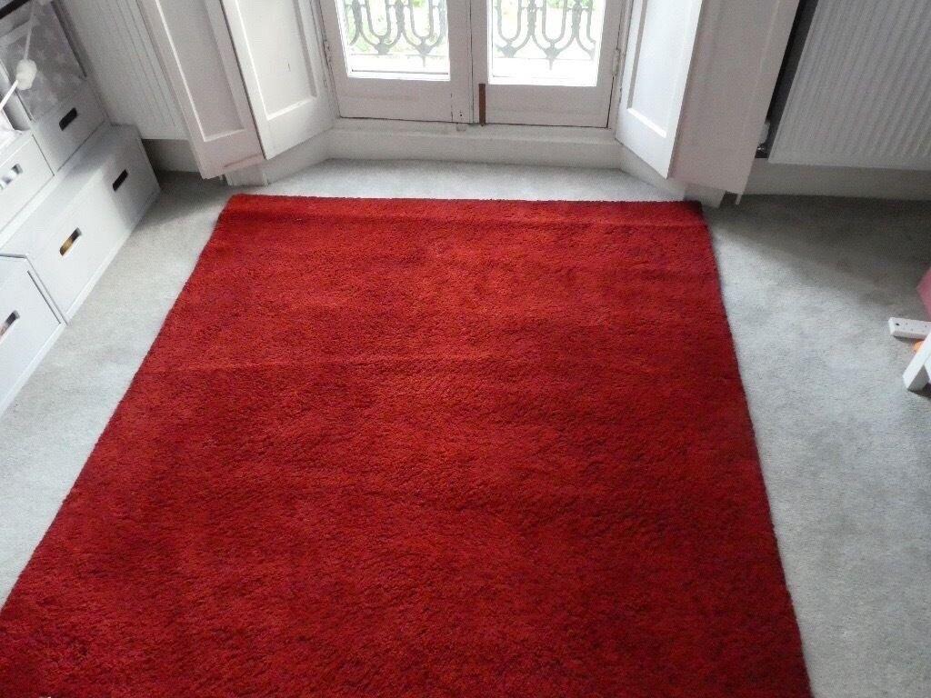 Ikea Adum Red Rug In North Lanarkshire Gumtree