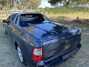 2008 Ford Falcon FG XR6T Dark Blue Metallic 6 Speed Auto Seq Sportshift Utility Applethorpe Southern Downs Preview