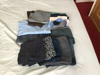 Boundle of maternity clothes size 8-10