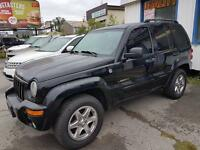 2004 Jeep Liberty 4X4 Leather, Alloys, Loaded Hamilton Ontario Preview