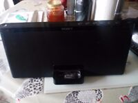 Sony RDP_X60ip iPod docking speaker system also features Bluetooth cost £200 new