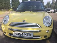 2005 MINI 1.6 MINI COOPER 3dr Hatchhhback,YELLOW Color,91000 Miles,54 Reg,Good,2 Owners,A/C,Alloys