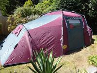 Khyam tent - RidgiDome Tourer quick erect 4berth