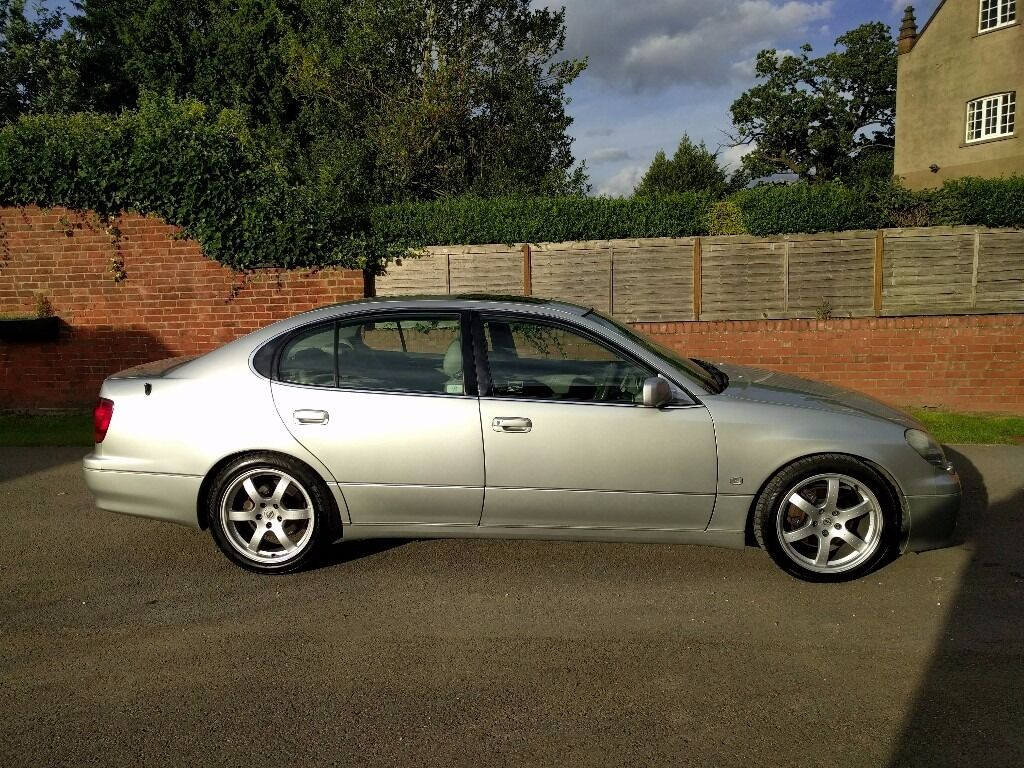 2001 lexus gs430 se silver lowered 18 39 rays 39 alloys. Black Bedroom Furniture Sets. Home Design Ideas