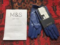 Women's M&S Leather Gloves brand new