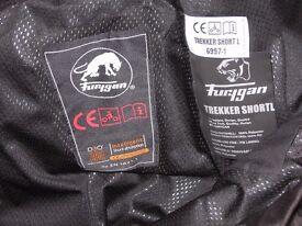 Furygan Motorcycle Waterproof Trousers Trekker 2XL Short with removable lining