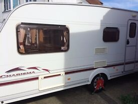 SWIFT 565 CHARISMA 4 BIRTH WITH FREE AWNING,IN LOVEY CONDITION,READY TO USE EASTER