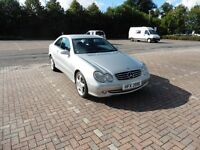Superb 2003 Mercedes CLK 240 for sale 7 months MOT and transferable warranty.