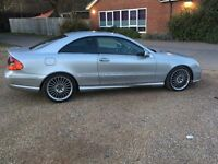 MERCEDES BENZ CLK270 COUPE 2.7 DIESEL AMG AUTOMATIC
