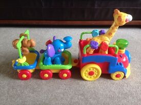 Fisher Price Amazing Animals Choo-Choo Train