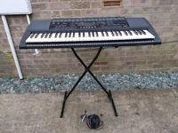 Yamaha keyboard & stand