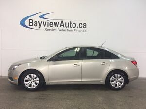 2013 Chevrolet CRUZE LS- 1.8L! AUTO! A/C! ON STAR! 14000 KM!