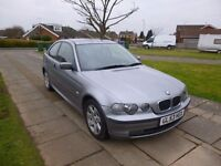 2004 VERY NICE BMW 3 SERIES COMPACT LONG MOT M SPORT FEATURES