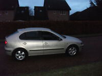 seat leon sx 1598cc 2004 motd till april 18