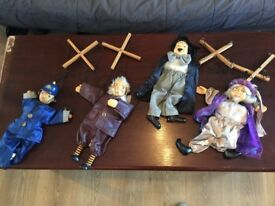 4 puppets in amazing conditions only £30!!!!!