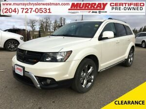 2017 Dodge Journey Crossroad AWD *Nav* *Backup Cam* *Heated Leat